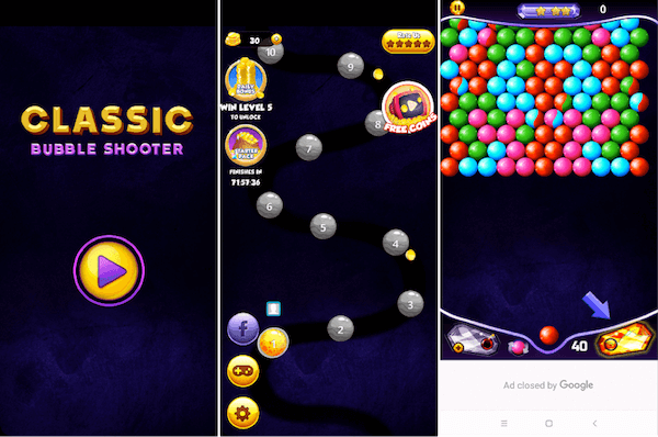 Bubble Shooter Classic Game For Android