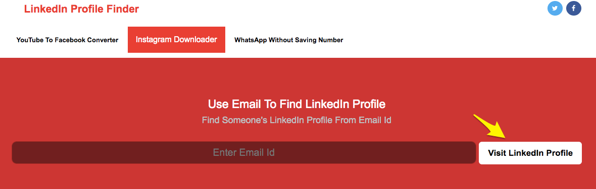 Find LinkedIn Profile By Email Without Gmail