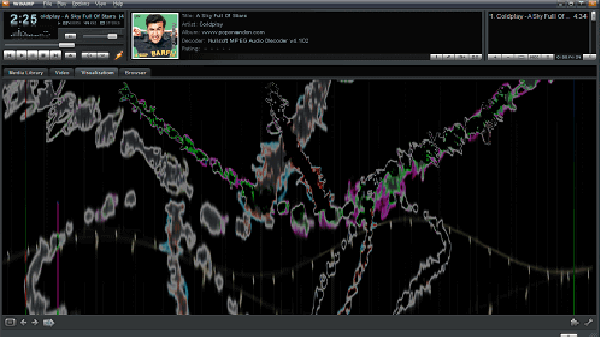 Free music visualizer for windows - MilkDrop 2