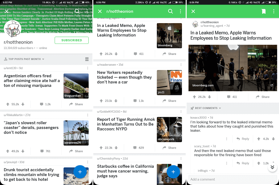 reddit funny news - Nottheonion