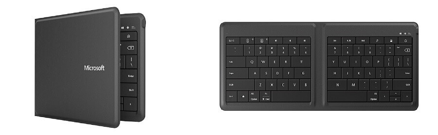 smallest keyboard for PC - Microsoft Universal Foldable