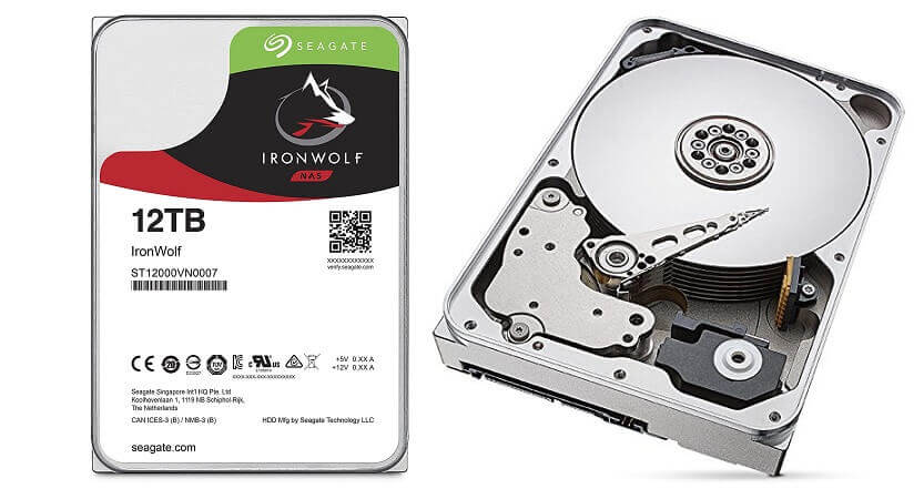 1. Seagate 12TB - Largest Hard Drive