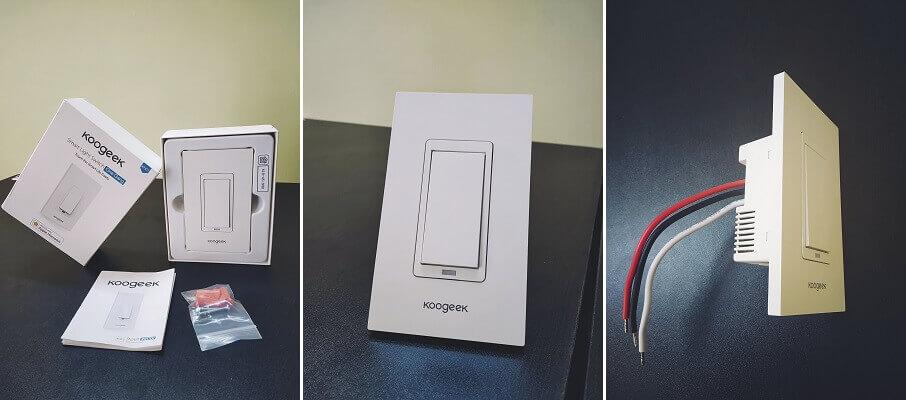 2. Koogeek WiFi Enabled Smart Light Switch Review