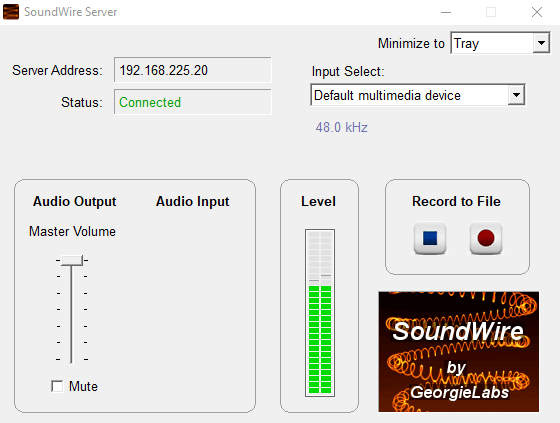3 - make your phone a speaker for your PC - SoundWire App Android