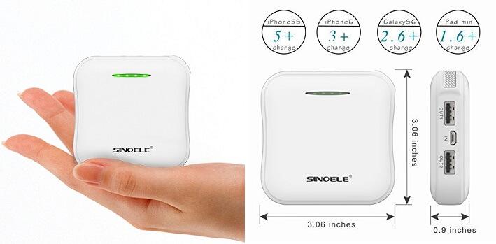 SINOELE - best portable power bank