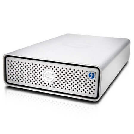 4. G-Technology - G-DRIVE 10 TB External USB 3.0 - Largest hard drive for Mac and PC