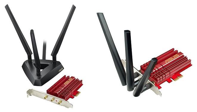 ASUS Dual-Band Wireless-AC1900 PCI-E Adapter