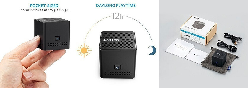 Anker Ultra-Portable Bluetooth Speaker - Ultra compact