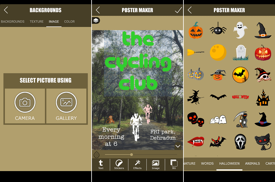 7 Best Poster Maker Apps And Sites For Android, iPhone, PC