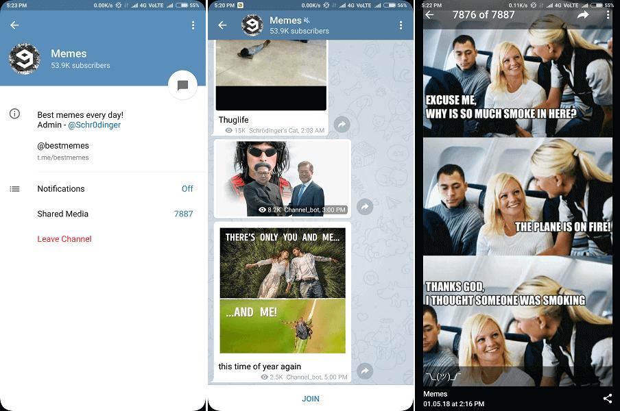 Best telegram channel for daily memes