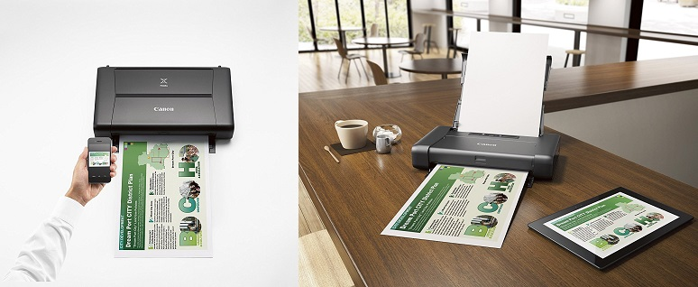 CANON PIXMA iP110 Wireless Mobile -Best Smallest Printer With Airprint