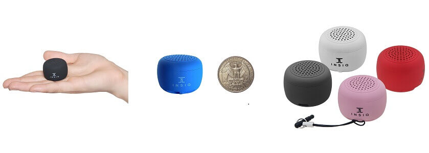 INSIQ Smallest Bluetooth Speaker
