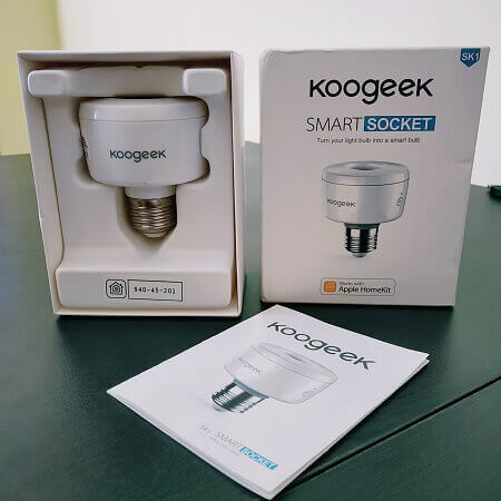 Koogeek SK-1 Wi-Fi Enabled Smart Socket siri control monitor power