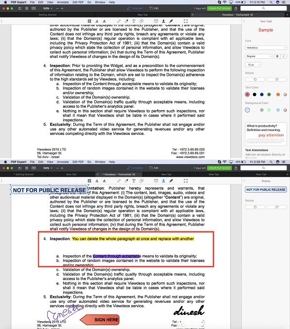 PDF Expert - Best PDF text editor