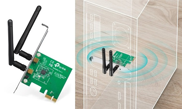 TP-Link TL-WN881ND N300 PCI-E - Connect PC to wifi hotspot