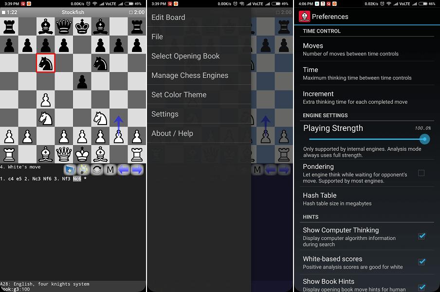 Droid Fish - Stock Fish chess app