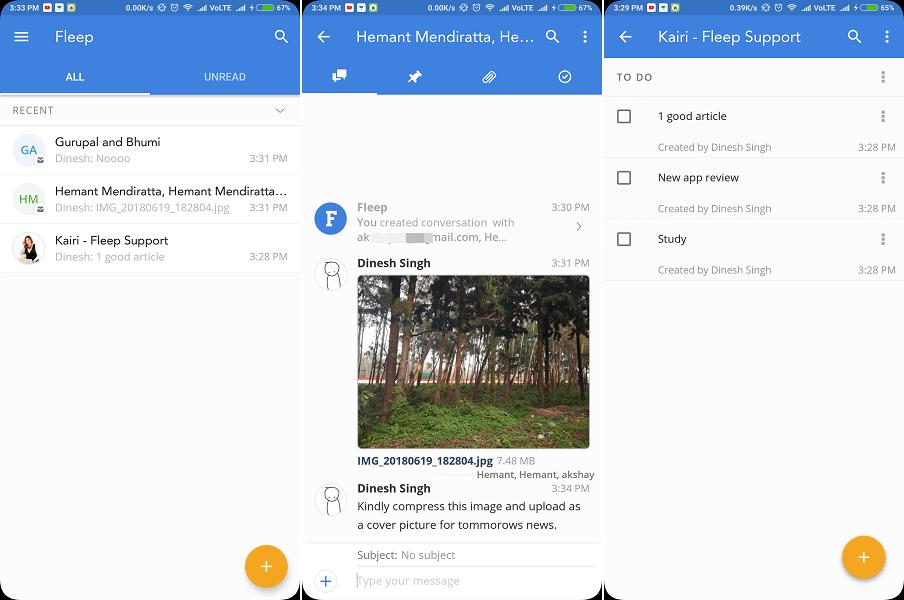 Fleep - Best Alternative to Slack App