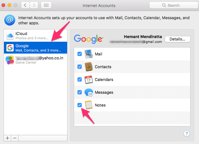 How to See Notes On Mac from Android