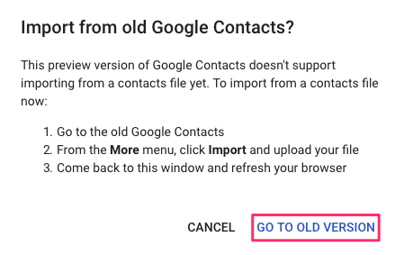 Import contacts from iCloud to Gmail