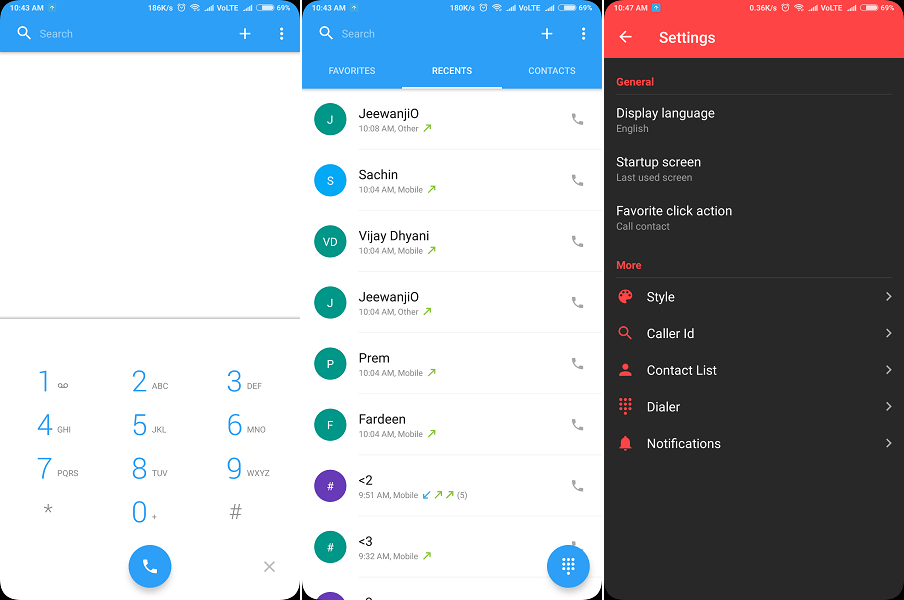 Simpler - dialer app android download