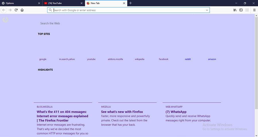 How To Change Firefox Background Color, Theme And Wallpaper