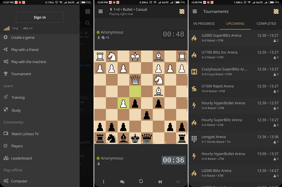 lichess - best free chess apps