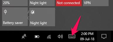Find emoji on Windows computer