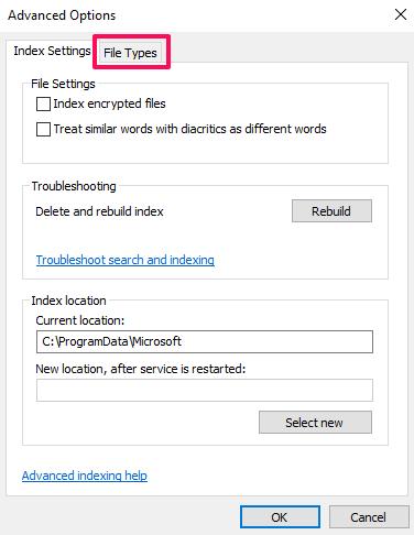 windows advanced search file contents