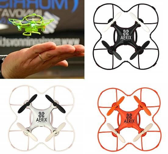 Aerix Nano Drone smallest drone in the world
