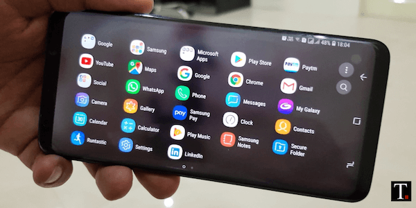 How to Enable Horizontal Home Screen On Galaxy S8 S9