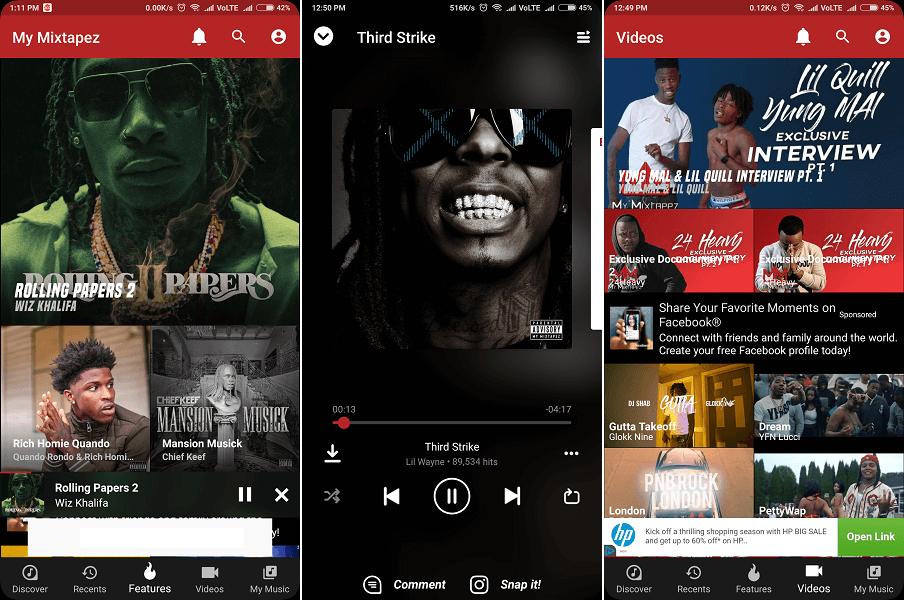My Mixtapez - Websites & Apps Like Soundcloud