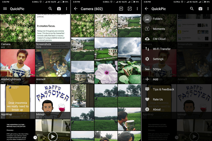 QuickPic - Best gallery apps for Android