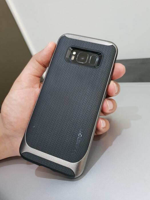 Spigen Neo Hybrid for Galaxy S8 back