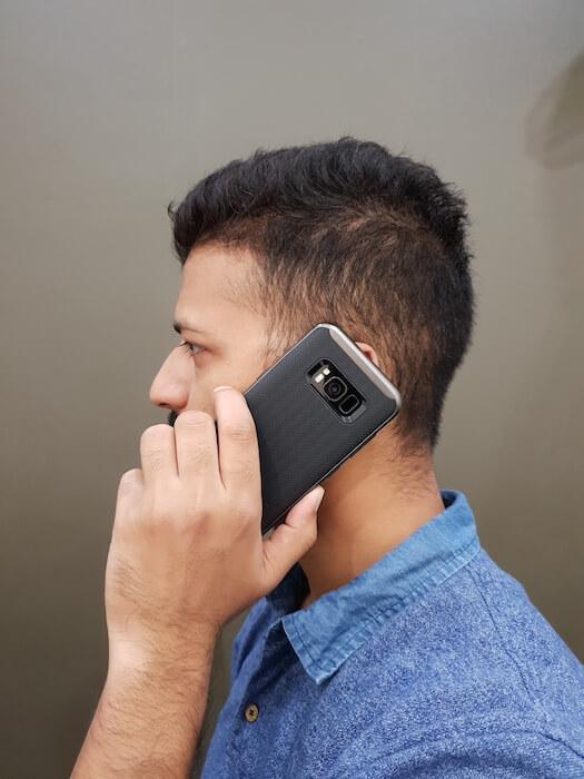 Spigen Neo Hybrid phone case perfect grip