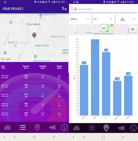 TRAI MySpeed app