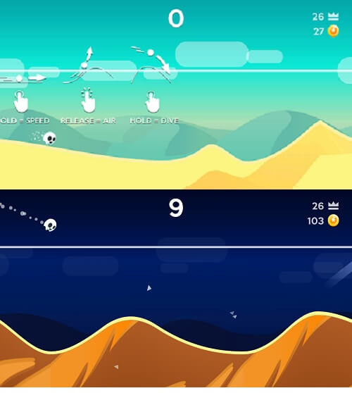 Dune Android and iOS game like Rise Up