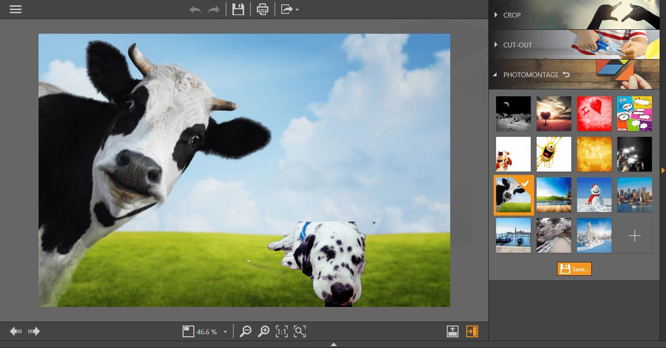 Fotophire - photomontage