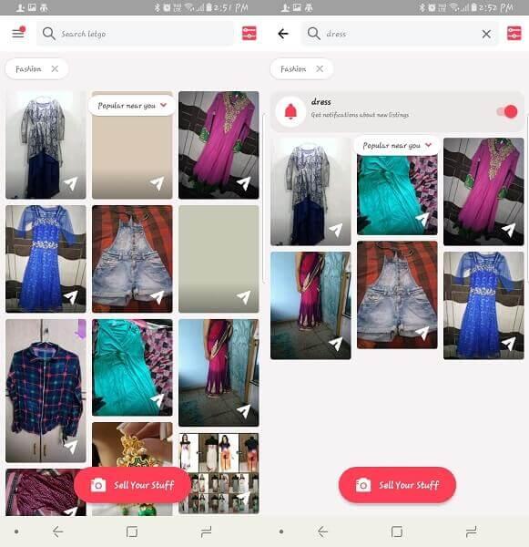 Letgo - reselling fashion