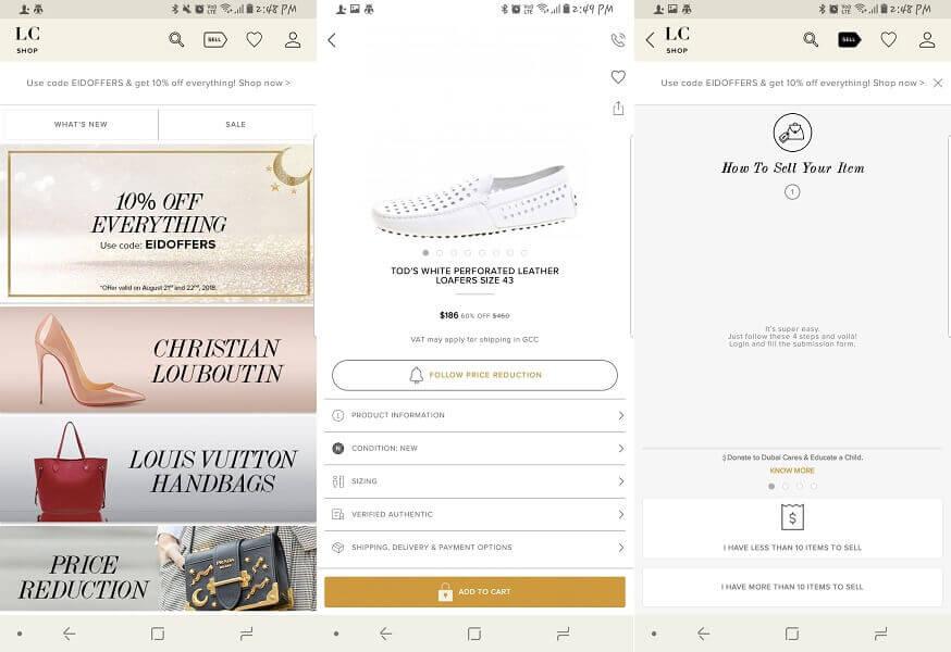 The luxury Closet - apps and sites like poshmark