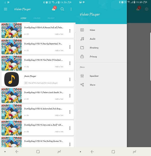 Video Player - Android app