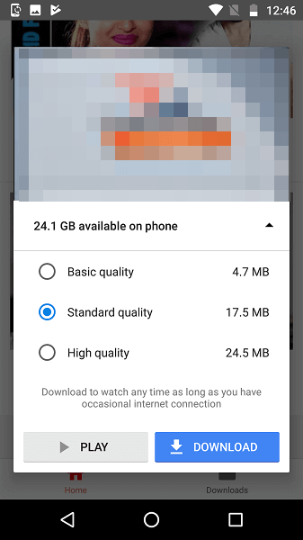 Youtube Go offline videos