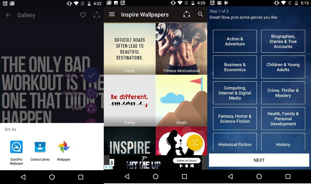 best self-improvement android apps - HD Inspire Wallpapers