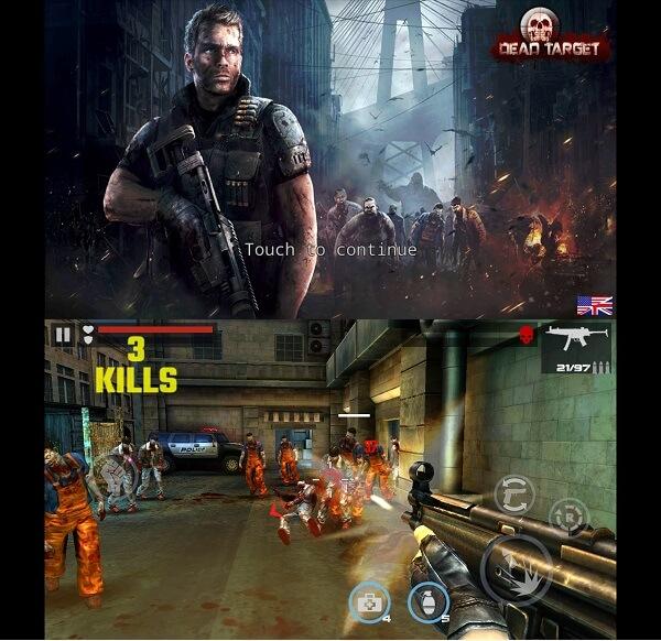 dead target - Best Zombie game