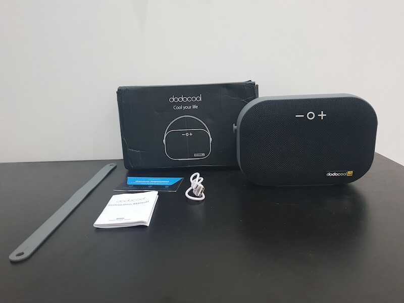 dodocool 2-in-1 portable speaker
