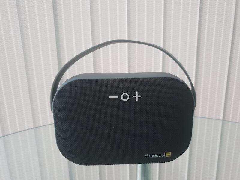 dodocool Bluetooth speaker design