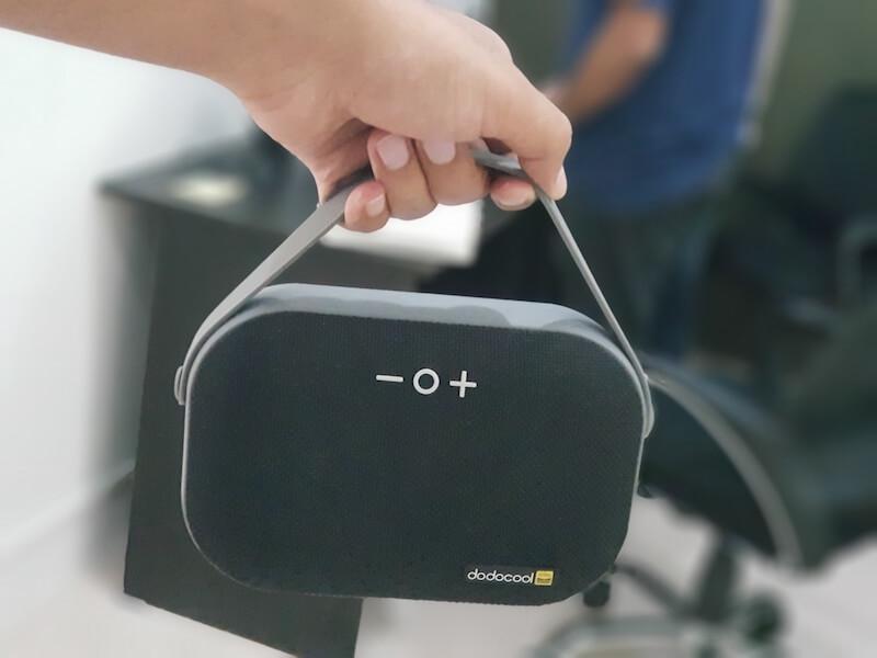dodocool bluetooth Portable speaker features