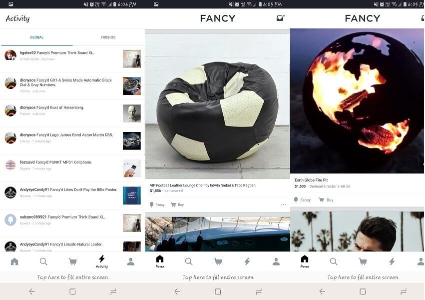 fancy app