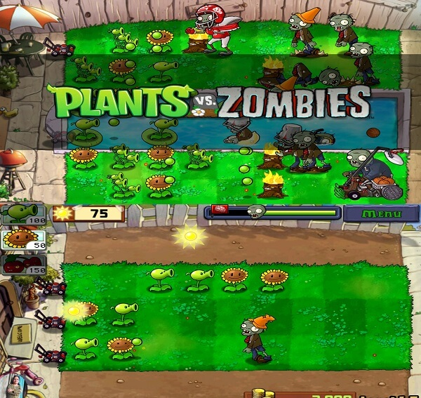 plants vs zombies - best zombie apps for android iPhone