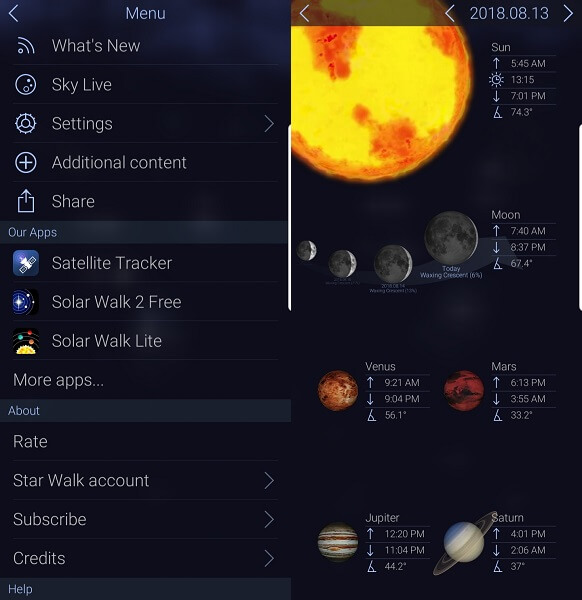 star walk 2 hiking app