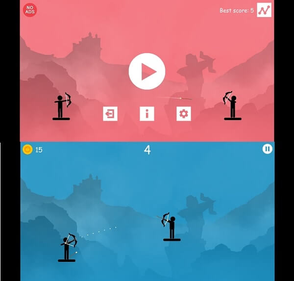 the archer 2; best archery games for Android